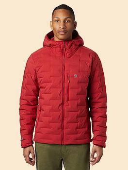 Men�s Super/DS� Stretchdown Hooded Jacket