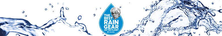 Best Raingear on the Planet in a raindrop shape