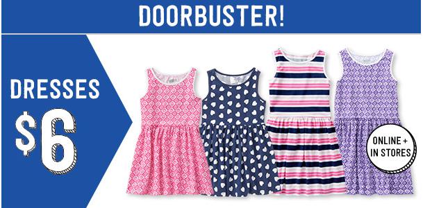 $6 Doorbuster Dresses
