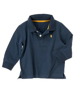 Lightning Bolt Polo Shirt