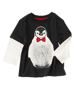 Penguin Double Sleeve Tee