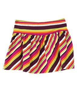 Print Knit Skirt