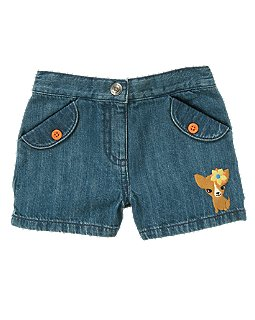 Puppy Denim Short