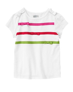 Ribbon Bow Tee