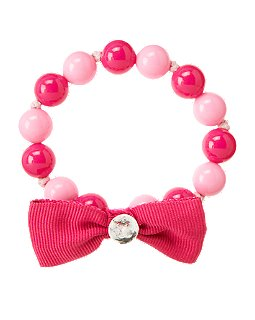 Gem Bow Bead Bracelet