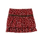 Bow Dot Knit Skort