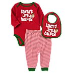 Reindeer Bodysuit Bib 3-Piece Set