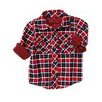 Double Weave Plaid Shirt
