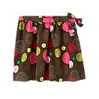 Dot Corduroy Skirt