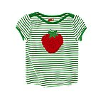 Strawberry Stripe Tee