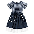 Stripe Sash Dress