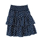 Dot Tiered Gauze Skirt