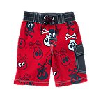 Skull & Crossbones Swim Trunk