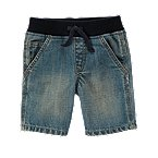Pull-On Denim Short