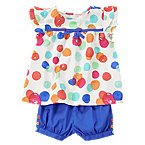 Watercolor Dot Two-Piece Set