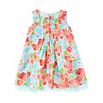 Butterfly Floral Voile Dress