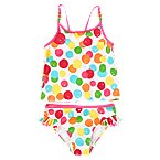 Beaded Dot Two-Piece Swimsuit