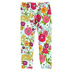 Floral Crop Legging