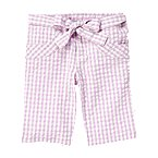 Gingham Seersucker Bermuda Short