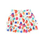 Watercolor Dot Knit Skort