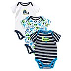 Tiny Traveler Bodysuit 3-Pack