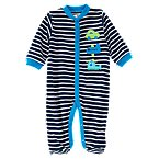 Tiny Traveler Stripe Footed One-Piece