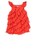 Ruffle Tiered Swing Tank