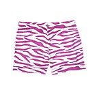 Zebra Stripe Knit Short