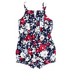 Smocked Flower Romper