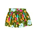 Tropical Flower Skort