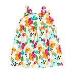 Tropical Flower Dress