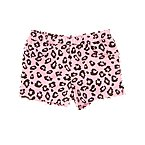Leopard Print Knit Short