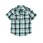 Double Pocket Plaid Shirt