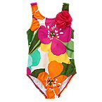 Tropical Flower Swimsuit