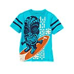 Tiki Surfer Stripe Tee