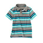 Stripe Polo Shirt