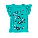 Gem Butterflies Flutter Top