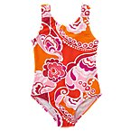 Tropical Swirl One-Piece Swimsuit