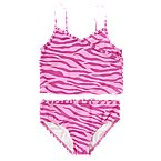 Zebra Stripe Tankini Swimsuit