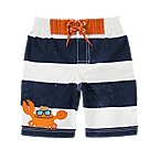 Crab Stripe Swim Trunk