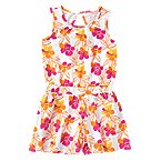 Tropical Flower Romper