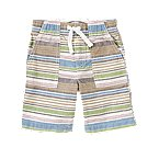 Pull-On Stripe Short