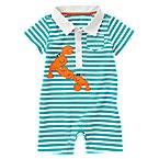 Lobster Stripe Polo One-Piece