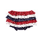 Star Dot Ruffle Short