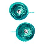 Gem Flower Bobby Pin 2-Pack