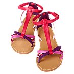 Braided T-Strap Sandal