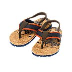 Tropical Faux Cork Flip Flop