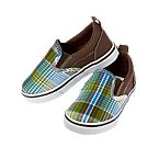 Plaid Slip-On Sneaker