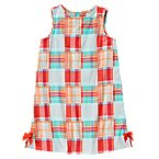Plaid Patchwork Dress