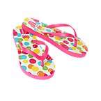 Watercolor Dot Flip Flop